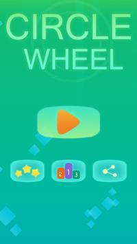 Shoot Circle Wheel poster