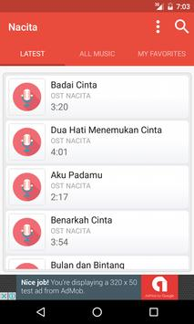 Lagu Nacita Terbaru (OST) poster