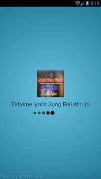 Extreme Lyrics Full Album Song poster