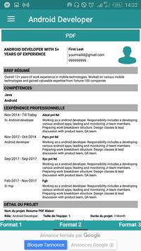 free resume maker templates