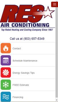 RES Air Conditioning poster