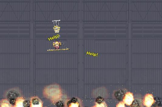 Spider Rescue Hero - Rope Swing screenshot 4