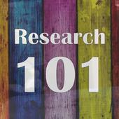 Research 101 UTCOE icon