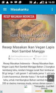 Resep Masakan Indonesia screenshot 1