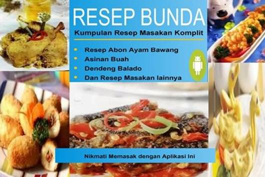 Resep Masakan Komplit poster