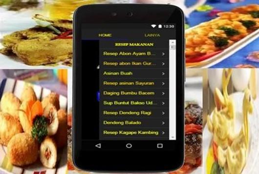 Resep Masakan Komplit apk screenshot