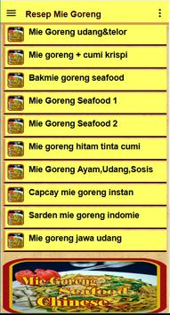 Resep Mie goreng screenshot 19