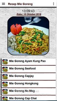 Resep Mie goreng screenshot 1