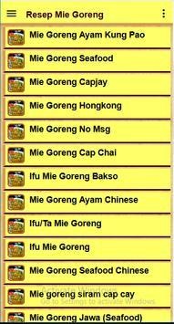 Resep Mie goreng screenshot 2