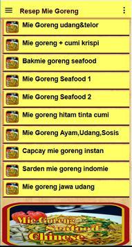 Resep Mie goreng screenshot 5