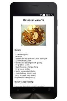 Resep Masakan Jakarta screenshot 1