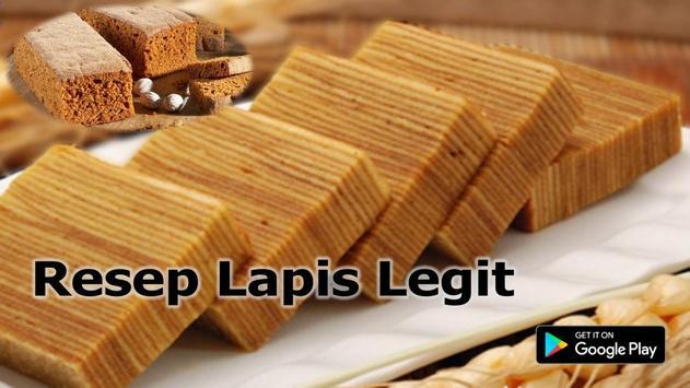 Resep Lapis Legit screenshot 3