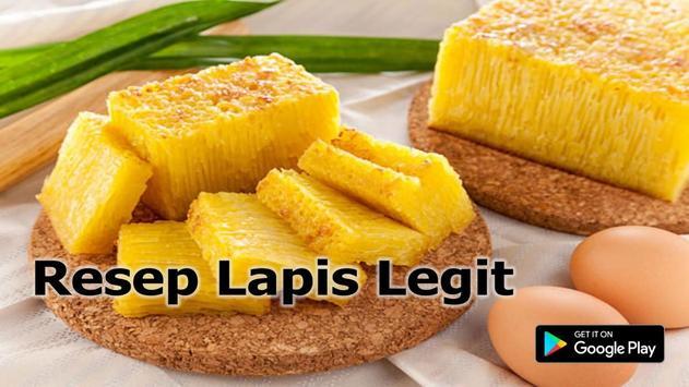 Resep Lapis Legit screenshot 2