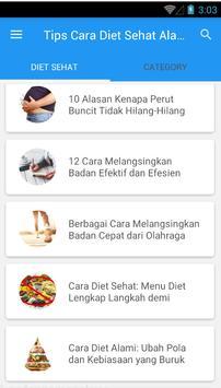 Tips Cara Diet Sehat Alami #1 screenshot 2