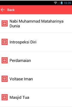Mp3 Qosidah Terlawas screenshot 1