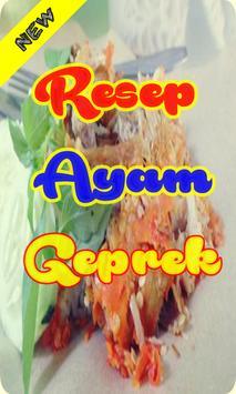 Resep Ayam Geprek Bumbu Special Terbaru screenshot 3