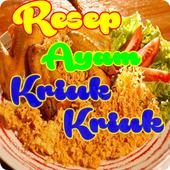 Resep Ayam Goreng Kriuk-kriuk Terlengkap icon