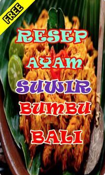 Resep Ayam Suwir Kemangi Terbaru apk screenshot