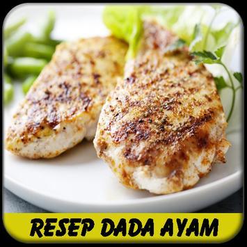Aneka Resep Dada Ayam poster