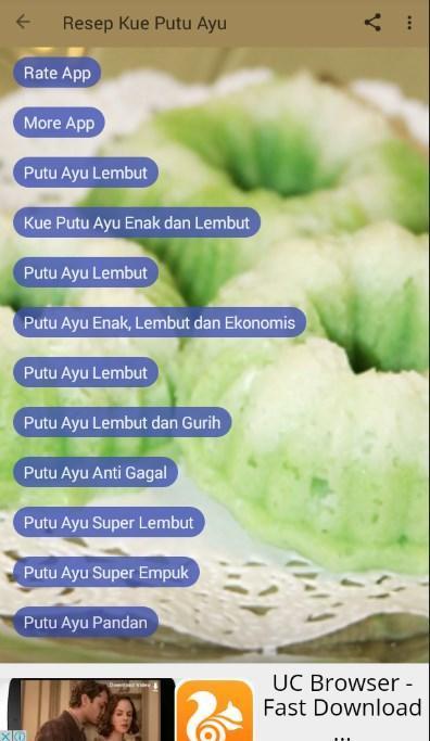 Resep Kue Putu Ayu Für Android Apk Herunterladen