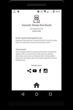 Inscook: Resep Kue Basah Komplit screenshot 11