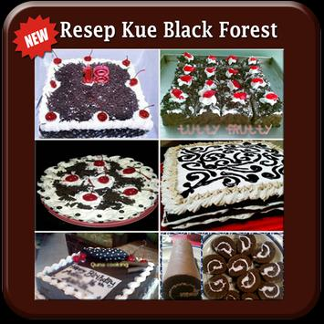 "Resep Kue Black Forest ""TOP"" poster"