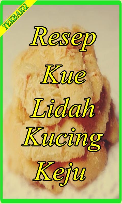Resep Kue Lidah Kucing Keju Renyah Terlengkap Für Android