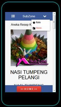 Aneka Resep Kue Rainbow apk screenshot