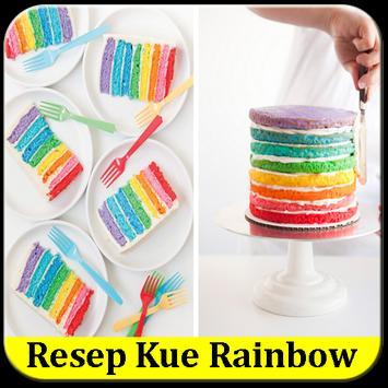 Aneka Resep Kue Rainbow poster