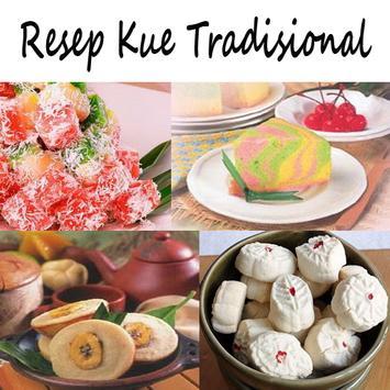 Resep Kue Tradisional Lengkap poster