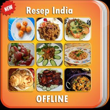 Resep INDIA Enak LENGKAP poster