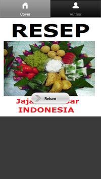 Resep Jajanan Pasar Indonesia screenshot 1