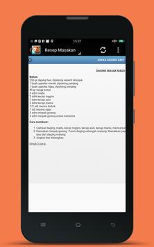 Resep Masakan Ramadhan 2017 screenshot 3