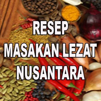 Resep Masakan lezat Nusantara poster