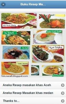 Recipes Aceh and Medan Cuisine poster