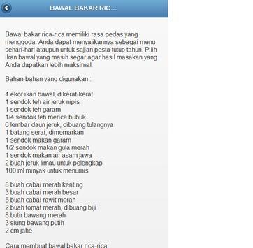 101 RESEP MASAKAN SEA FOOD screenshot 1