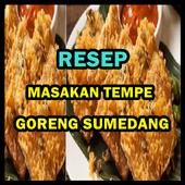 Resep Masakan Tempe Goreng Serundeng icon