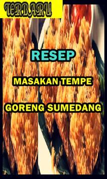 Resep Masakan Tempe Goreng Serundeng poster