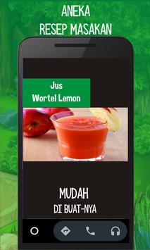 Jus Wortel Lemon poster