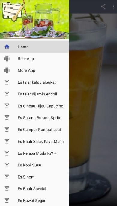 Resep Es Segar For Android Apk Download