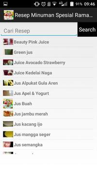 Resep Minuman Spesial Ramadhan screenshot 3