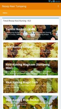 Resep Nasi Tumpeng screenshot 4