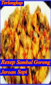 Resep Sambal Goreng Jeroan Sapi Gurih Lezat Baru screenshot 3