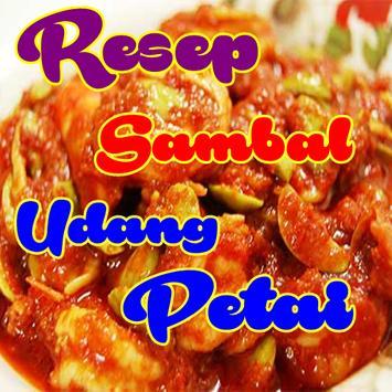 Resep Sambal Udang Pedas Teranyar poster