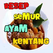 Resep Semur Ayam Campur Kentang Terbaru icon