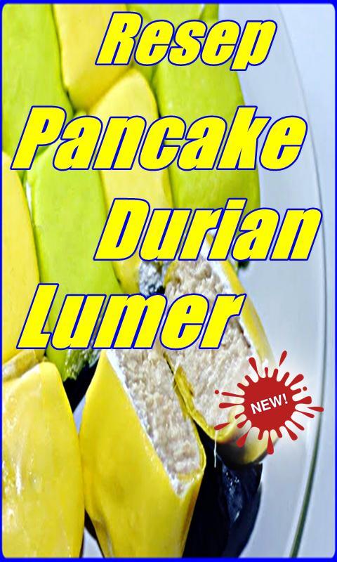Resep Pancake Durian Lumer Terlengkap For Android Apk Download