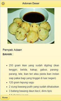 Recipes Pempek Palembang screenshot 3