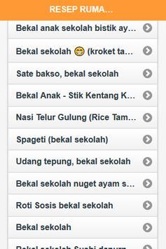 Resep Bekal Anak Sekolah screenshot 1