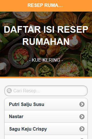 Resep Kue Kering For Android Apk Download