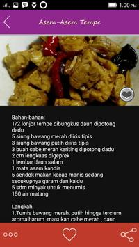 Resep Tempe Pilihan screenshot 1